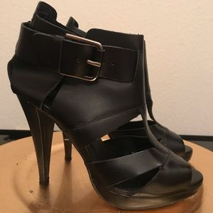 Aldo open-toed caged sandals/heels